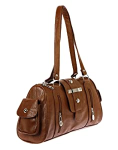 5ffe1a3ed8 Bagizaa Women s Handbag (Brown