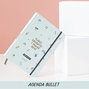Mr. Wonderful - Agenda bullet 2019 - Planes, garabatos y muchas ideas