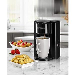 Black+Decker 350W 1 Cup Coffee Maker/Coffee Machine