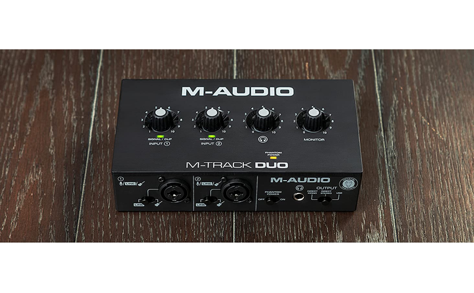 M-Audio M-Track Duo – USB Audio Interface