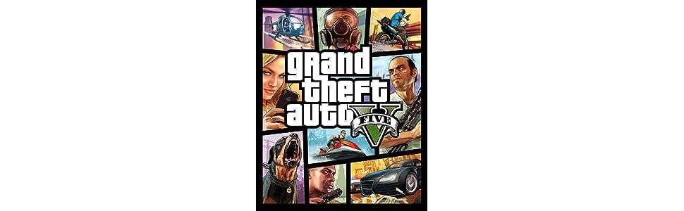 Grand Theft Auto V Gta V Ps4 Playstation 4 Amazon Es Videojuegos