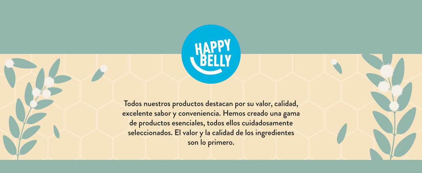 Marca Amazon - Happy Belly Miel de eucalipto 340gr x 4: Amazon.es ...