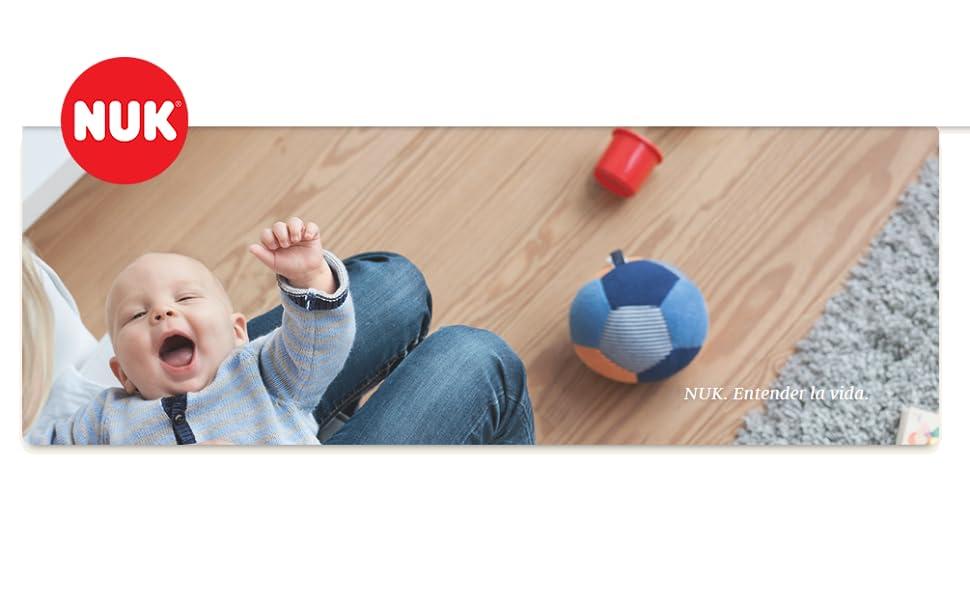 Nuk 10759088 - Set de de bienvenida + Nuk Nature Sense - Set de inicio: Amazon.es: Bebé