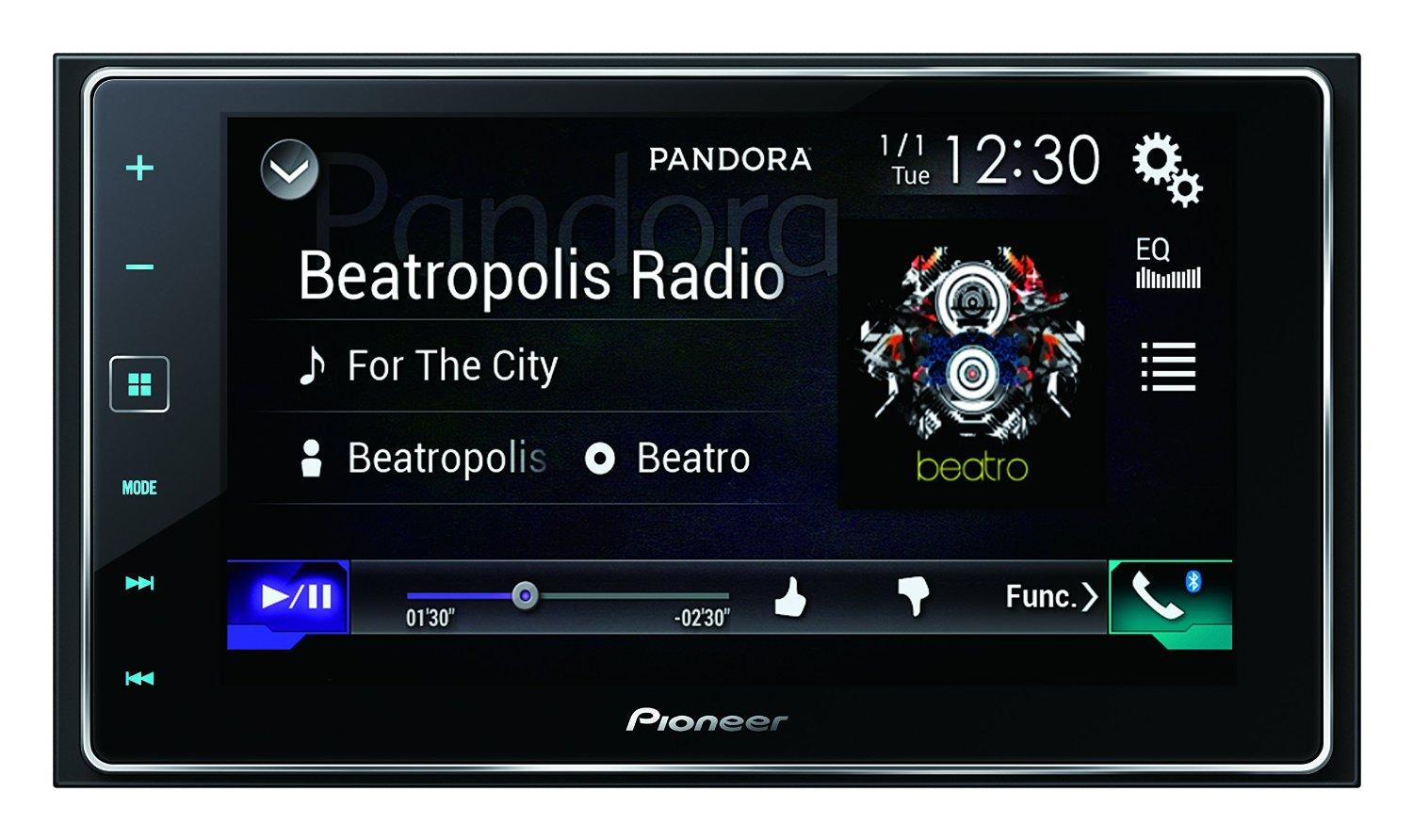 pioneer sph da120 autoradio appradio carplay doppio din. Black Bedroom Furniture Sets. Home Design Ideas