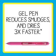 Quick-Drying Gel Ink for Tidy Writing