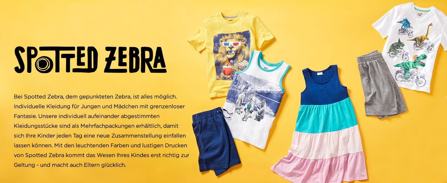Spotted Zebra Midi-Ballettr/öckchen Kleinkinder Kinder M/ädchen Marke