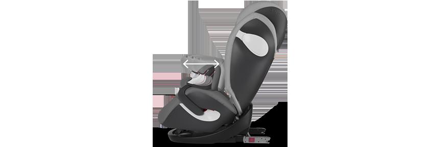 Cybex pallas m fix silla de coche grupo 1 2 3 isofix azul marino beb - Silla cybex grupo 2 3 isofix ...