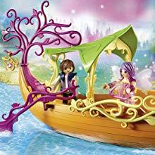 Playmobil, Fairies, Fairy Ship, Boat, Float, Figures, Enchanted, Dolphin