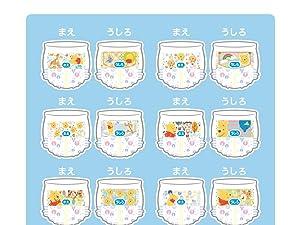 デザインは全部で6種類12パターン