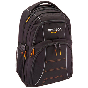AmazonGear Laptop Backpack (up to 17 inches) - Black