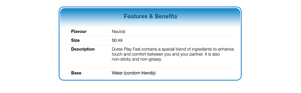 Durex Durex Play Feel Lube