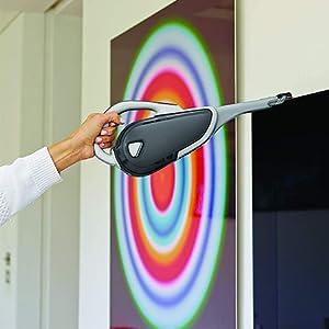 Black & Decker 10.8 Wh Lithium Ion 7.2V Mpp Hand Vacuum Cleaner, Multi Color - Dvj215J-B5