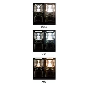 ジェントス LED ランタン 【3色切替/明るさ1000ルーメン/実用点灯5.5時間/防滴】