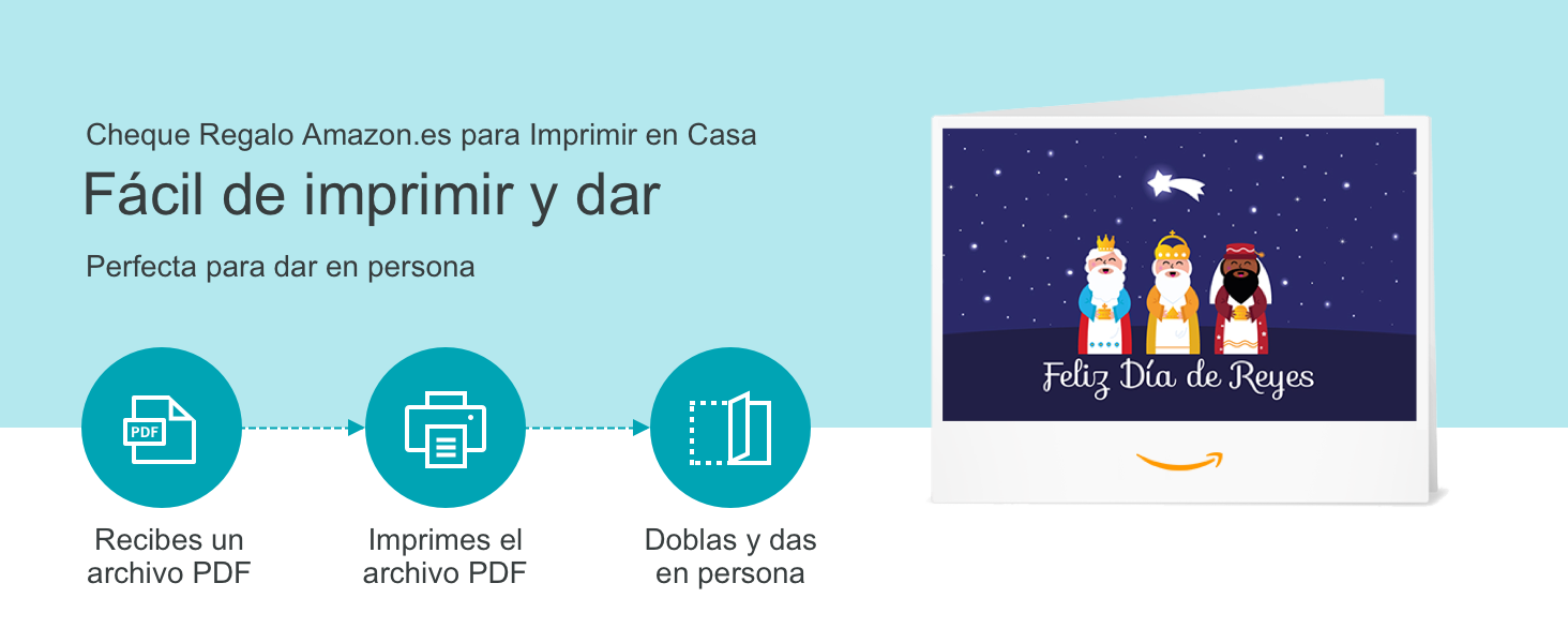 Cheque Regalo de Amazon.es - Para imprimir: Amazon.es ...