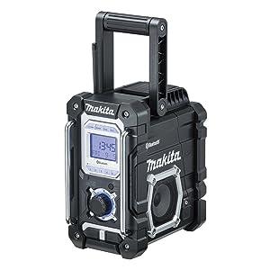 マキタ Bluetooth搭載 充電式ラジオ MR108B バッテリ・充電器別売 カラー黒