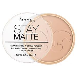 Rimmel London Stay Matte Pressed Powder, Shade 005, Silky Beige