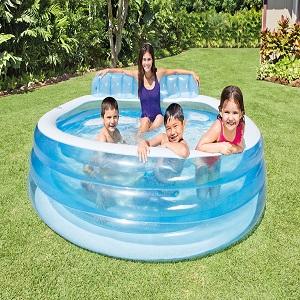 Intex Swim Center Family Lounge Pool Toys Games