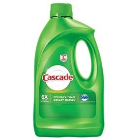 Amazon.com: Cascade Gel Dishwasher Detergent, Fresh Scent