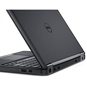 Dell Latitude E5570 Laptop - Intel Core i7-6600U, 15.6 Inch, 500GB, 8GB, Win 7 Pro, Black