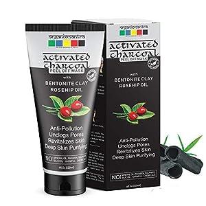organix mantra deep, face pack, peel off mask, face mask, cosmetics, mens cosmetics