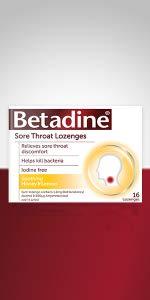 Sore throat; Sore throat lozenges;  Sore throat medicine; Anaesthetic lozenges;  Sore throat cure;