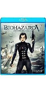 バイオハザードV リトリビューション [AmazonDVDコレクション] [Blu-ray]