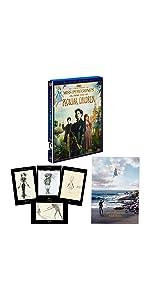 【Amazon.co.jp限定】ミス・ペレグリンと奇妙なこどもたち 3枚組3D・2Dブルーレイ&DVD (A3サイズポスター+ポストカードセット付き)(初回生産限定)