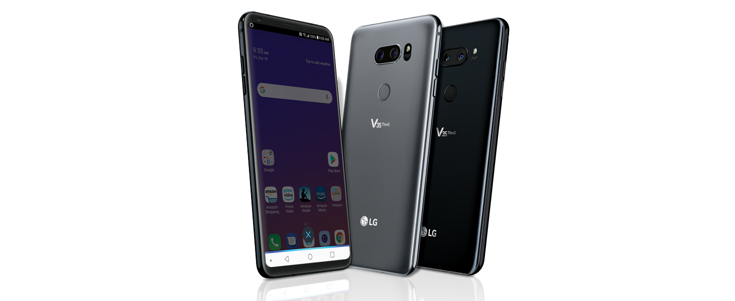 LG V35 ThinQ with Alexa Hands-Free