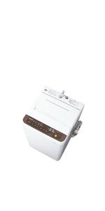 パナソニック 全自動洗濯機 洗濯 6kg つけおきコース搭載 バスポンプ内蔵 ブラウン NA-F60PB12-T
