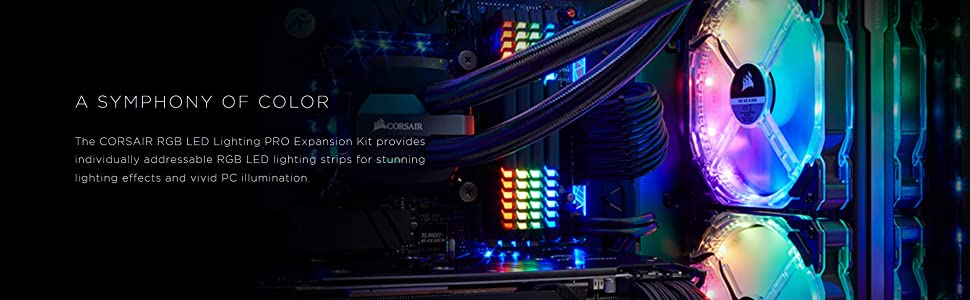 RGB LED Lighting PRO Expansion Kit CORSAIR