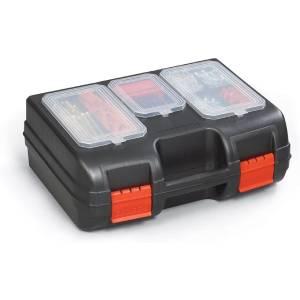 Viso PM02 Polypropylene Suitcase with Organiser