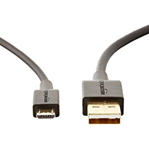 Amazonベーシック USB2.0 A(オス) - マイクロBケーブル 0.9m ブラック