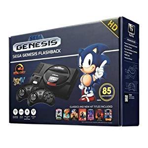 Sega Classic Genesis Con 85 Juegos Cargados Hd Collection Edition