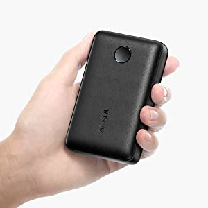 Anker A1223 PowerCore Portable Wired Power Bank, 10000 mAh - Black