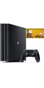 PlayStation 4 Pro ジェット・ブラック 1TB【特典】オリジナルカスタムテーマ 配信