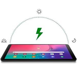 Samsung Galaxy Tab A T515 2019-10.1 Inch, 32GB, 2GB RAM, 4G LTE, Silver