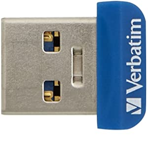 Verbatim Memory N Stay Nano Usb 2 0 Drive 64 Gb Computers Accessories