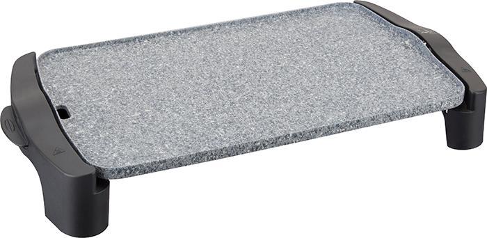 Jata Plancha de asar GR558 - 2,500 W de potencia, Medidas: 46 x 28 cm, Muy resistente al rayado y antiadherente, Libre de PFOA, Fabricada en España, ...