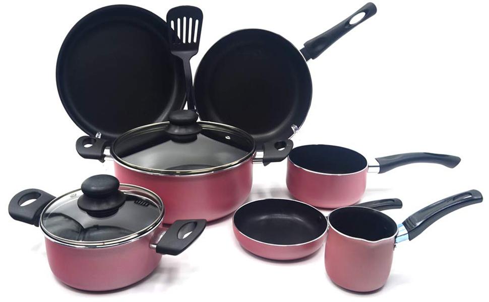 Trust Non.Stick Cookware Set 10pcs, BR63P