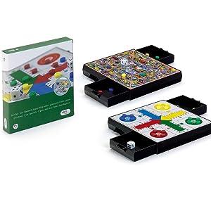 Cayro - Parchis y Oca Magnético - Juego de Tradicional - Juego de Mesa - Desarrollo de Habilidades cognitivas - Juego de Mesa (441): Amazon.es: Juguetes y juegos