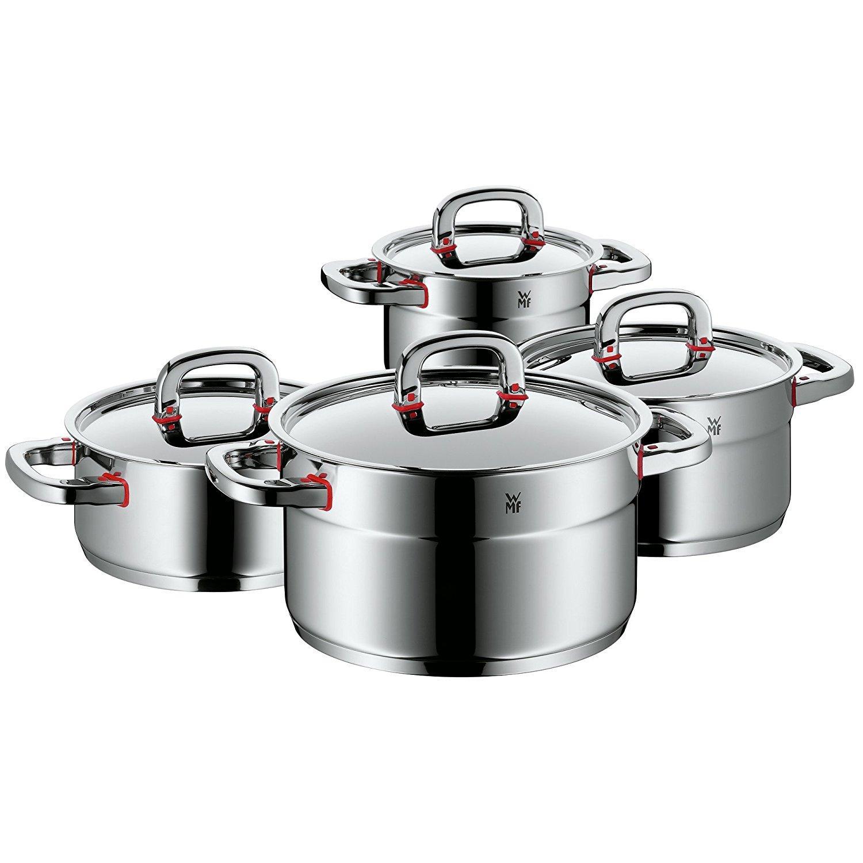 WMF Premium One - Batería de Cocina, 3 Piezas
