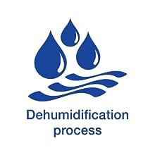 •Dehumidification process
