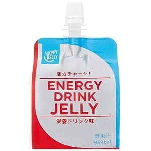[Amazonブランド]Happy Belly エナジードリンクゼリー 栄養ドリンク味