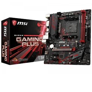 MSI Gaming Plus, Placa Base Gaming (AM4, AMD B450, 1 x PCI-E 3.0 ...