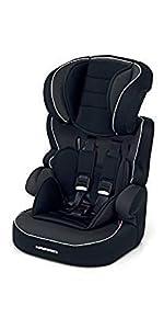 Foppapedretti Babyroad Seggiolino Auto, Nero Carbon, Gruppo 1-2-3 (9-36 Kg) per bambini da 9 mesi a 12 anni circa