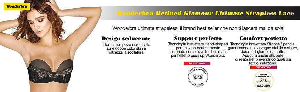 Wonderbra Amazon Strapless Abbigliamento it Reggiseno Ultimate Donna qwS8vx