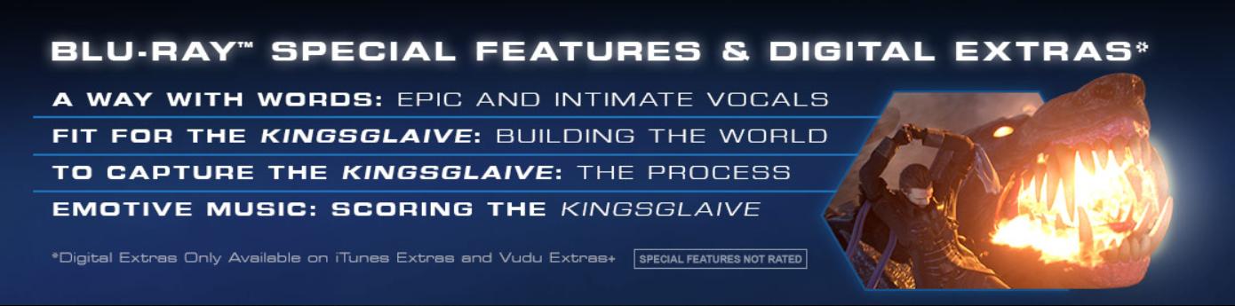amazoncom kingsglaive final fantasy xv limited edition
