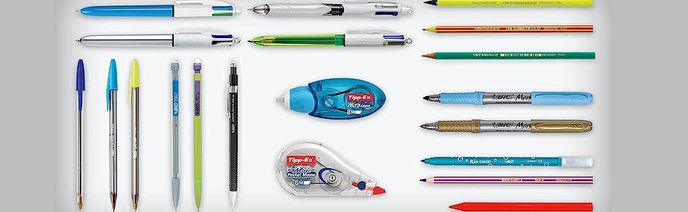 BIC Color Up rotuladores de colorear - colores surtidos, pack de 24 (964901): Amazon.es: Oficina y papelería