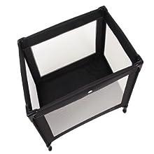 red kite black sleep tight travel cot red kite. Black Bedroom Furniture Sets. Home Design Ideas