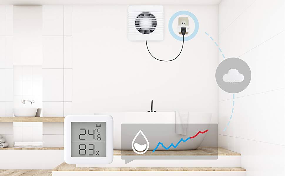 SwitchBot スイッチボット スマートプラグ Wi-Fi コンセント – タイマー 遠隔操作 音声コントロール Alexa Google Home IFTTT Siriに対応